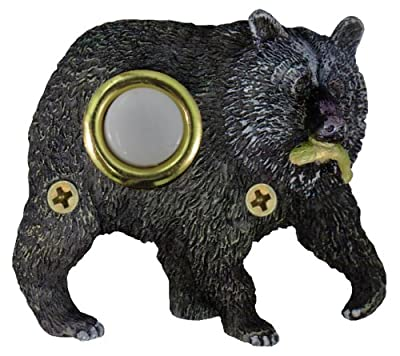 Company's Coming DBP-068 Bear Painted Doorbell Cover