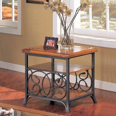 Cheap Adagio End Table in Medium Cherry (AD800E)