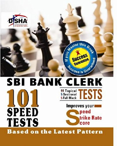 101 Speed Tests for SBI Clerk Exam