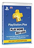 Cheapest PlayStation Plus Card 1 Year Subscription on PlayStation 3