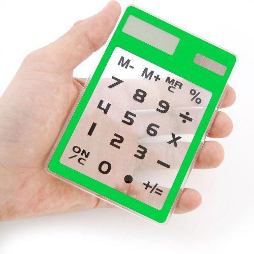 Sancho - transparent acrylic calculator AKIBA80...