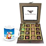 Celebration With Dark Chocolates With Christmas Mug - Chocholik Belgium Chocolates