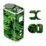 MightySkins Skin Compatible with Eleaf iStick 10W Mini - Weed | Protective, Durable, and Unique Vinyl Decal wrap Cover | Easy to Apply, Remove, and Change Styles | Made in The USA (Color: Weed, Tamaño: Eleaf iStick 10W Mini)