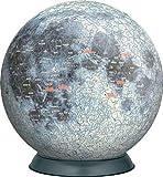 3D球体パズル 月球儀540P 2054-211