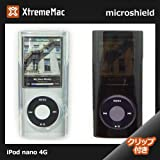 XtremeMac 第4世代iPod nano ケース micro shield ipod nano 第4世代 ケース ipod nano ケース ipod nano ケース クリア グラフィック デザイン ケース (クリアブラック)