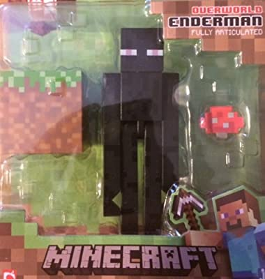 Minecraft Overworld Series 1 Enderman Action Figure by Jazwares