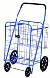 Narita Trading 012BL Shopping Cart Jumbo Plus - Blue