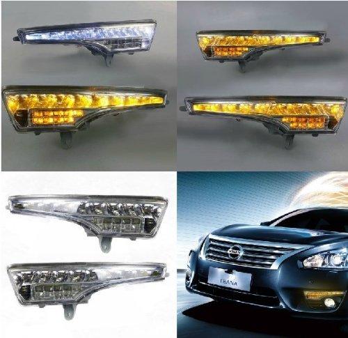 Auptech Nissan Teana 2013 Daytime Running Lights Car Led Drl Daylight (1 Pair)