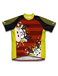 Cowlicious Short Sleeve Cycling Jersey for Women