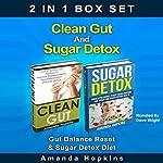 Clean Gut and Sugar Detox Set: Gut Balance Reset & Sugar Detox Diet | Amanda Hopkins