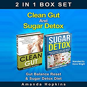 Clean Gut and Sugar Detox Set Audiobook