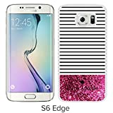 img - for Luxurious And Nice Custom Designed Kate Spade Cover Case For Samsung Galaxy S6 Edge White Phone Case 114 book / textbook / text book