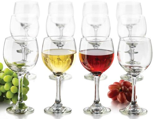 Libbey 12-Piece Wine Glass Party Set
