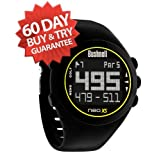Bushnell Neo XS Golf Rangefinder Watch - (NEW VERSION w  32,500+ Courses) (Black) by Bushnell