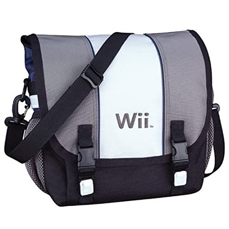 Premium Messenger Bag Carrying case for Nintendo Wii Console