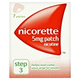 Nicorette Nicotine Patch 5mg - Step 3 - 7 Pack