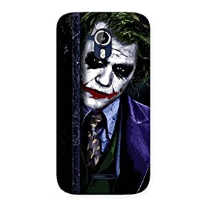 Gorgeous Joke Sneeking Multicolor Back Case Cover for Micromax Canvas Magnus A117