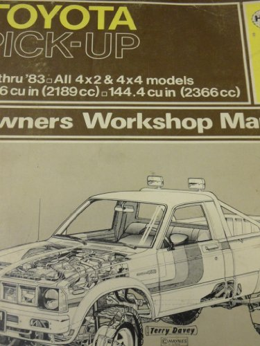 Toyota Pick-up 1979-83 All 4x2 and 4x4 Models Owner's Workshop Manual (Toyota 22re Distributor compare prices)
