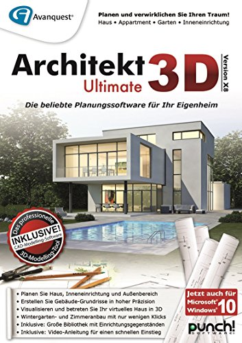 architekt 3d x8 ultimate pc download. Black Bedroom Furniture Sets. Home Design Ideas