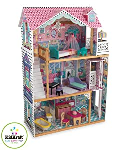 Amazon.com: KidKraft Annabelle Dollhouse with Furniture: Toys & Games