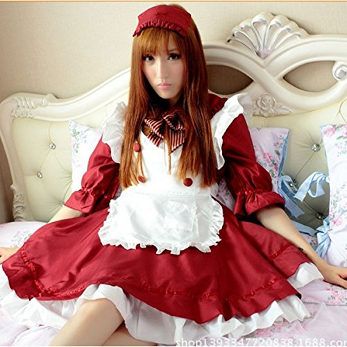 Little Red Riding Hood-style Cosplay Costume Set maid adult fancy dress