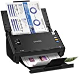 Epson WorkForce DS-510 Color Document Scanner for PC & MAC, Sheet-Fed, with Auto Document Feeder (ADF), Duplex (B11B209201)