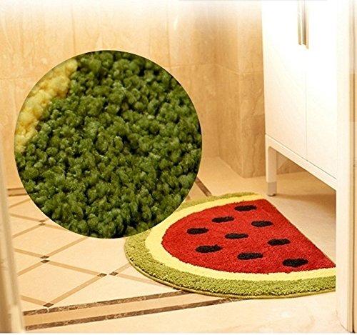luxbon microfiber non slip water absorbing watermelon half