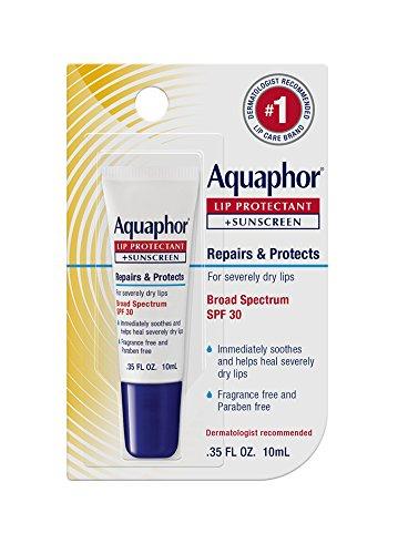 Aquaphor Lip Repair + Protect UVA/UVB, SPF 30, 0.35 Ounce