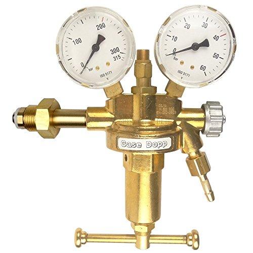 Druckminderer Druckluft 200bar Pressluft für Druckluftflasche Pressluftflasche 0-40 bar von Gase Dopp