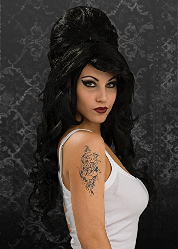 Gothic Amy Winehouse Style Wig