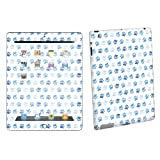 Apple iPad 3 – The New ipad 3rd Gen Tablet Decal Vinyl Skin By SkinGuardz Blue Paw