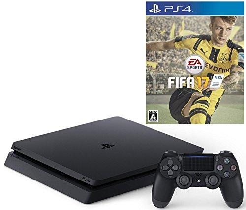 【12/6プライム会員限定 参考価格から8,160円OFF】PlayStation 4 ジェット・ブラック 500GB(CUH-2000AB01)+ FIFA 17