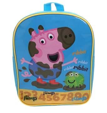 Amazon.com: Peppa Pig George Backpack: Clothing