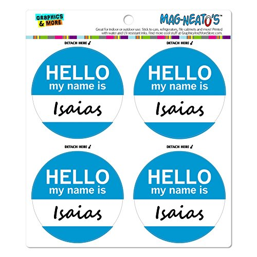 isaias-hello-my-name-is-mag-neatostm-automotive-car-refrigerator-locker-vinyl-magnet-set