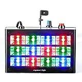 Eyourlife Bühnenbeleuchtung Discolicht Bühnenlicht Stroboskop sprachaktivierte RGB LED Blitzbühnenbeleuchtung für