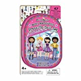 Fashion Angels Mini Magnetic Dress-Up Doll Set - Fashion Capitals