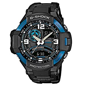 Reloj Casio G-shock Ga-1000-2ber Hombre Naranja