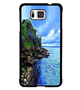 PRINTSWAG SEA VIEW Designer Back Cover Case for SAMSUNG GALAXY ALPHA