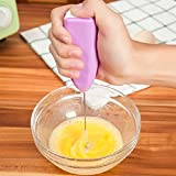 Portable Hand Blender For Lassi, Milk, Coffee, Egg Beater Mixer Battery Operated