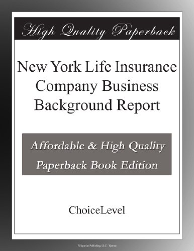 new-york-life-insurance-company-business-background-report