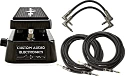 Dunlop MC404 CAE Dual Inductor Wah Pedal w/ 4 Cables by Dunlop
