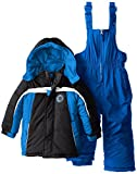 Ixtreme Baby Boys Insulated Down Alternative Snowboard Snowpants and Jacket Set - Royal (12 Months)