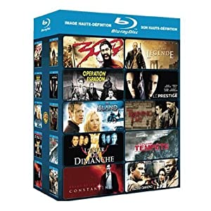 10 Action Blu-rays Amazon.fr