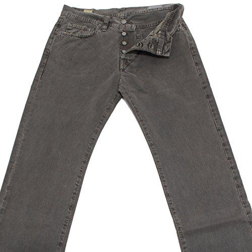 4304 jeans MAURO GRIFONI uomo pants men grigio [32]
