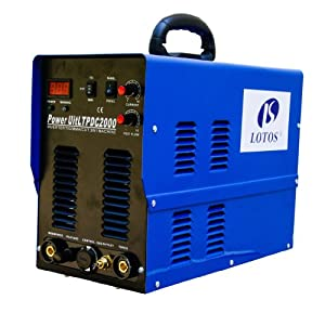 Title: MOSAIC PILOT ARC IGBT LTPDC2000 50A Plasma Cutter 200A Tig Stick Welder with Pedal & extra 14 pcs consumables by Lotos Technology