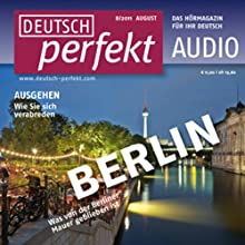 Deutsch perfekt Audio - Ausgehen im Sommer. 8/2011 Audiobook by  div. Narrated by  div.