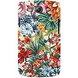 For Samsung Galaxy S3 I9300 :: Samsung I9305 Galaxy S III :: Samsung Galaxy S III LTE Floral Pattern ( Floral Pattern, Nice Pattern, Flower, Leaf, Pattern ) Printed Designer Back Case Cover By FashionCops
