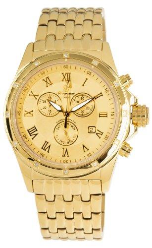 Burgmeister Men's Royal Diamond Chronograph Analogue Wristwatch BM121-279