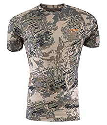 Sitka Gear Core Crew Short Sleeve Base Layer Shirt, Optifade Open Country, Large