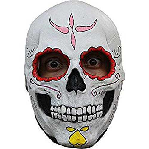 [Ghoulish Productions Day of the Dead Catrina Skull Mask] (Catrina Sugar Skull Costume)
